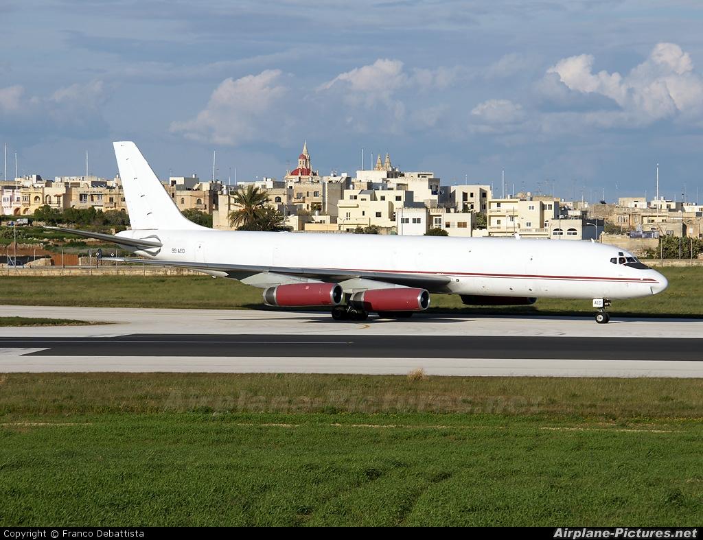 Air Charter Express 9G-AED aircraft at Malta Intl