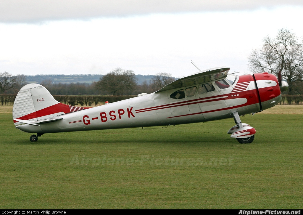 Private G-BSPK aircraft at Lashenden / Headcorn