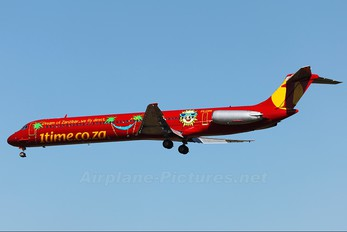 ZS-OBK - 1Time McDonnell Douglas MD-82