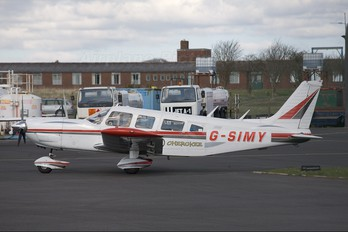 G-SIMY - Private Piper PA-32 Cherokee Six