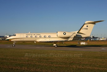 J-756 - Pakistan - Air Force Gulfstream Aerospace G-IV,  G-IV-SP, G-IV-X, G300, G350, G400, G450