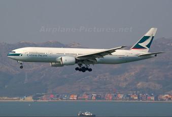 B-HNB - Cathay Pacific Boeing 777-200