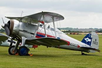 G-GLAD - Patina Gloster Gladiator