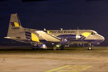 SE-LIB - West Air Europe Hawker Siddeley HS.748