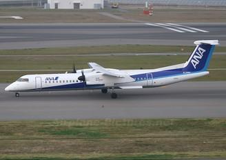 JA854A - ANA - Air Central de Havilland Canada DHC-8-400Q / Bombardier Q400