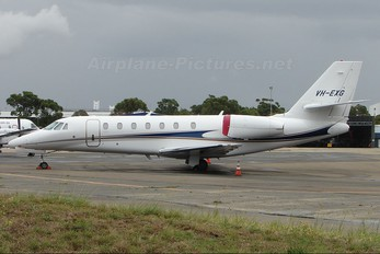 VH-EXG - Private Cessna 680 Sovereign
