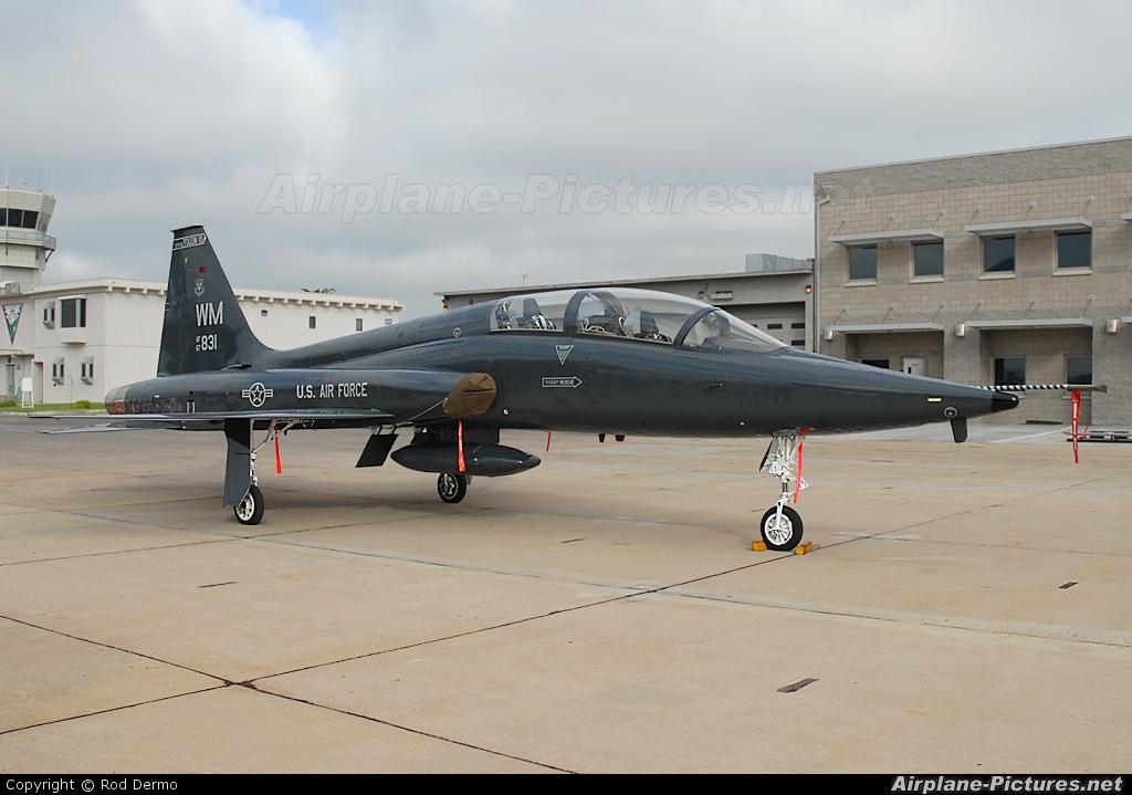 67 14831 usa air force northrop t 38c talon at miramar mcas mitscher field photo id. Black Bedroom Furniture Sets. Home Design Ideas