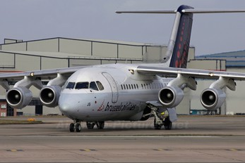 OO-DJS - Brussels Airlines British Aerospace BAe 146-200/Avro RJ85