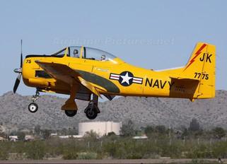 N28CT - Private North American T-28B Trojan