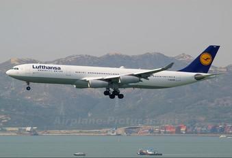 D-AIGM - Lufthansa Airbus A340-300