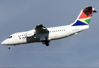 ZS-PUZ - South African Airlink British Aerospace BAe 146-200/Avro RJ85
