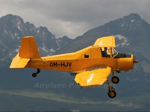OM-HJV - Techmont Zlín Aircraft Z-37A Čmelák