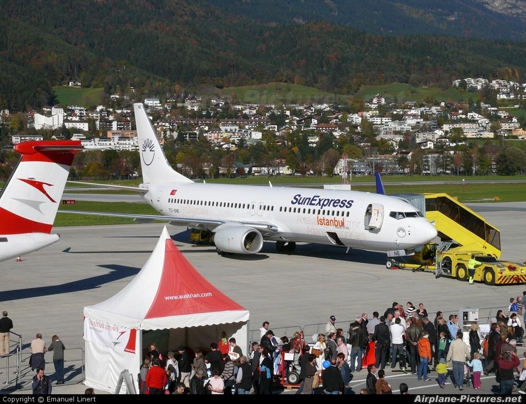 SunExpress TC-SNE aircraft at Innsbruck