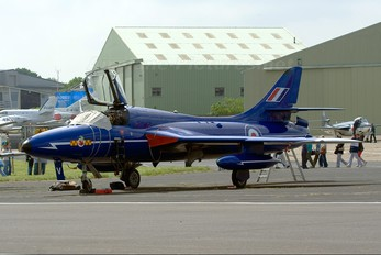 G-BXKF - Delta Jets Hawker Hunter T.7
