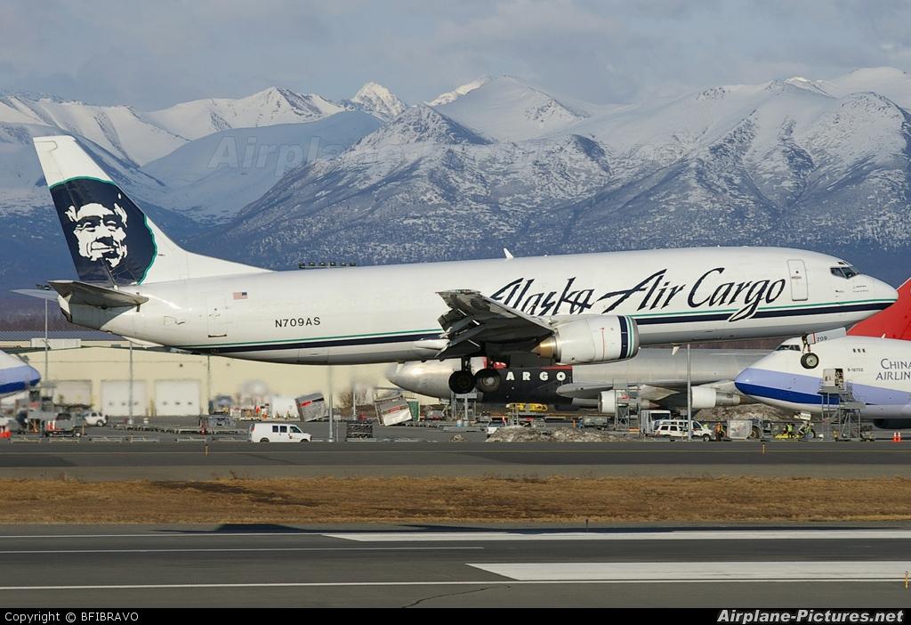 Alaska Airlines Cargo N709AS aircraft at Anchorage - Ted Stevens Intl / Kulis Air National Guard Base
