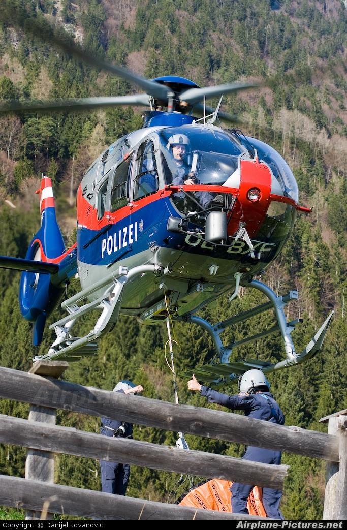 Austria - Police OE-BXF aircraft at Innsbruck