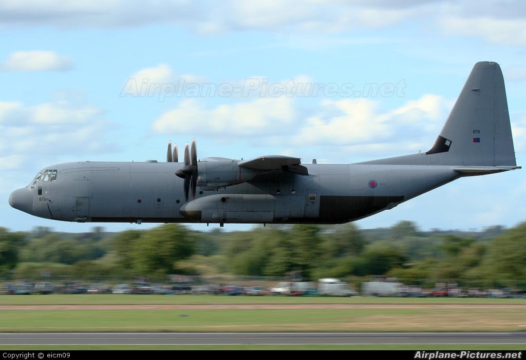 Royal Air Force ZH879 aircraft at Fairford