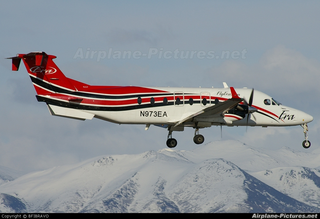 ERA Aviation N973EA aircraft at Anchorage - Ted Stevens Intl / Kulis Air National Guard Base