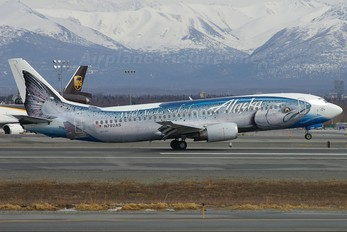 N792AS - Alaska Airlines Boeing 737-400