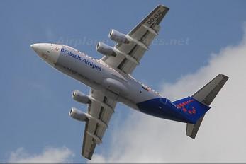 OO-DJZ - Brussels Airlines British Aerospace BAe 146-200/Avro RJ85
