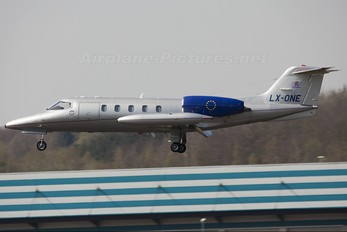 LX-ONE - Luxembourg Air Rescue Learjet 35