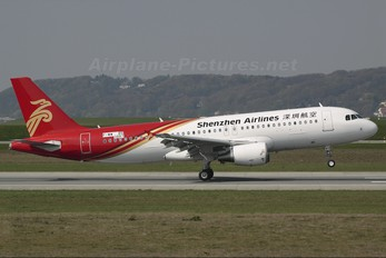F-WWBS - Shenzhen Airlines Airbus A320