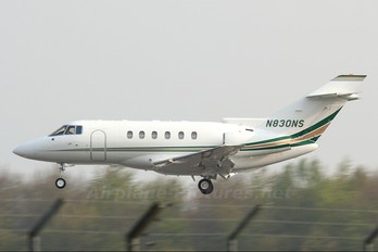 N830NS - Private Hawker Beechcraft 800