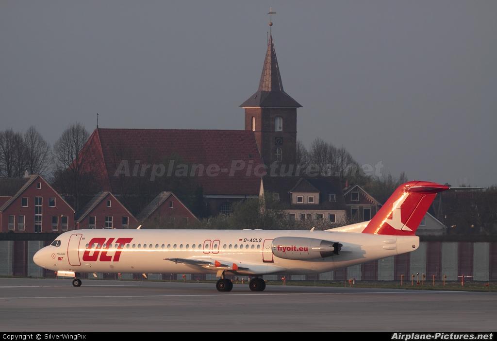 OLT - Ostfriesische Lufttransport D-AOLG aircraft at Hamburg - Finkenwerder