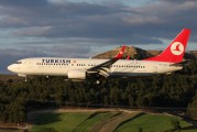 TC-JGZ - Turkish Airlines Boeing 737-800 aircraft