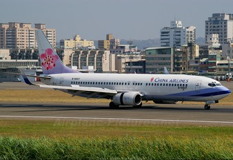 B-18607 - China Airlines Boeing 737-800
