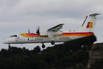 EC-IIB - Air Nostrum - Iberia Regional de Havilland Canada DHC-8-300Q Dash 8