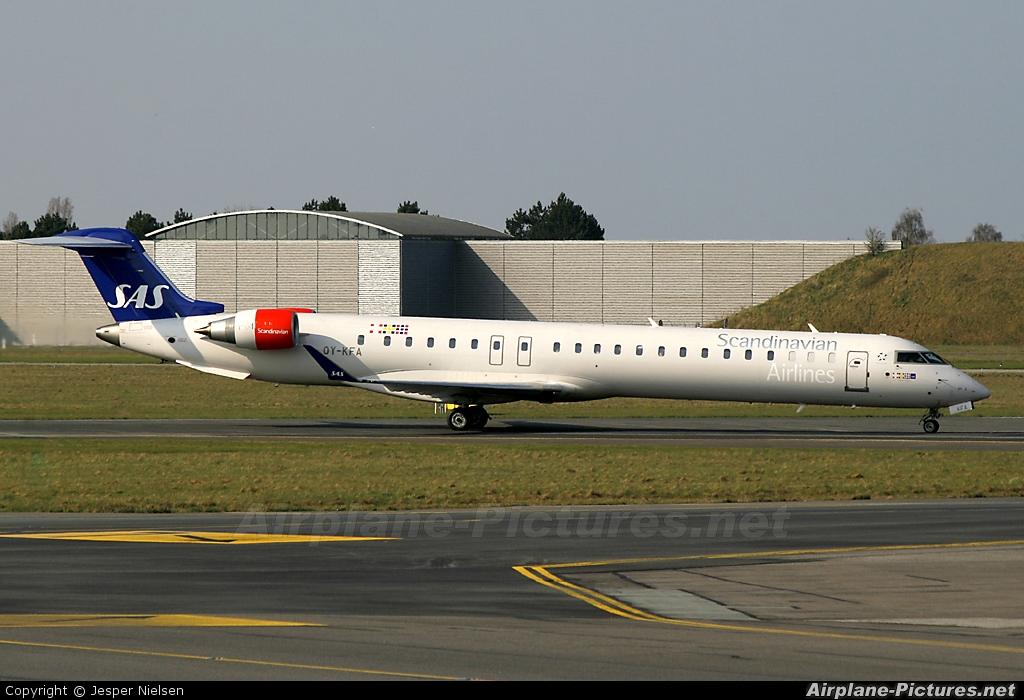 SAS - Scandinavian Airlines OY-KFA aircraft at Copenhagen Kastrup