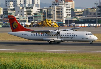 B-22801 - TransAsia Airways ATR 72 (all models)