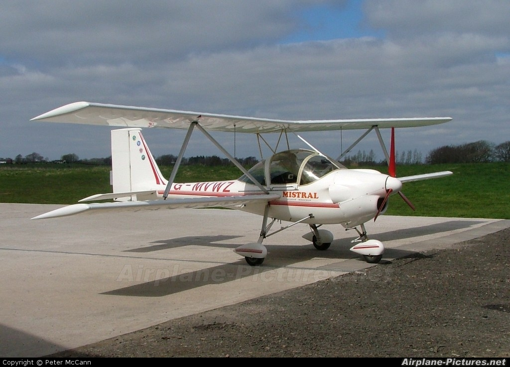 Private G-MVWZ aircraft at Strathaven