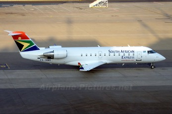 ZS-NME - South African Express Canadair CL-600 CRJ-200