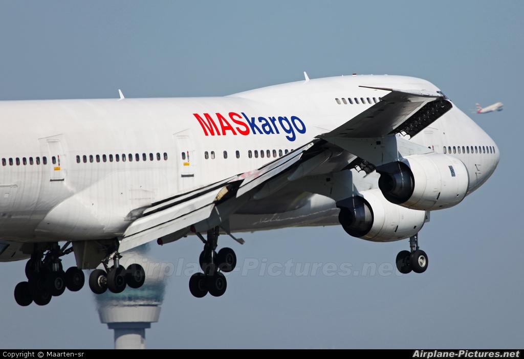 MASkargo TF-AAA aircraft at Amsterdam - Schiphol