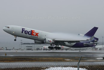 N608FE - FedEx Federal Express McDonnell Douglas MD-11F