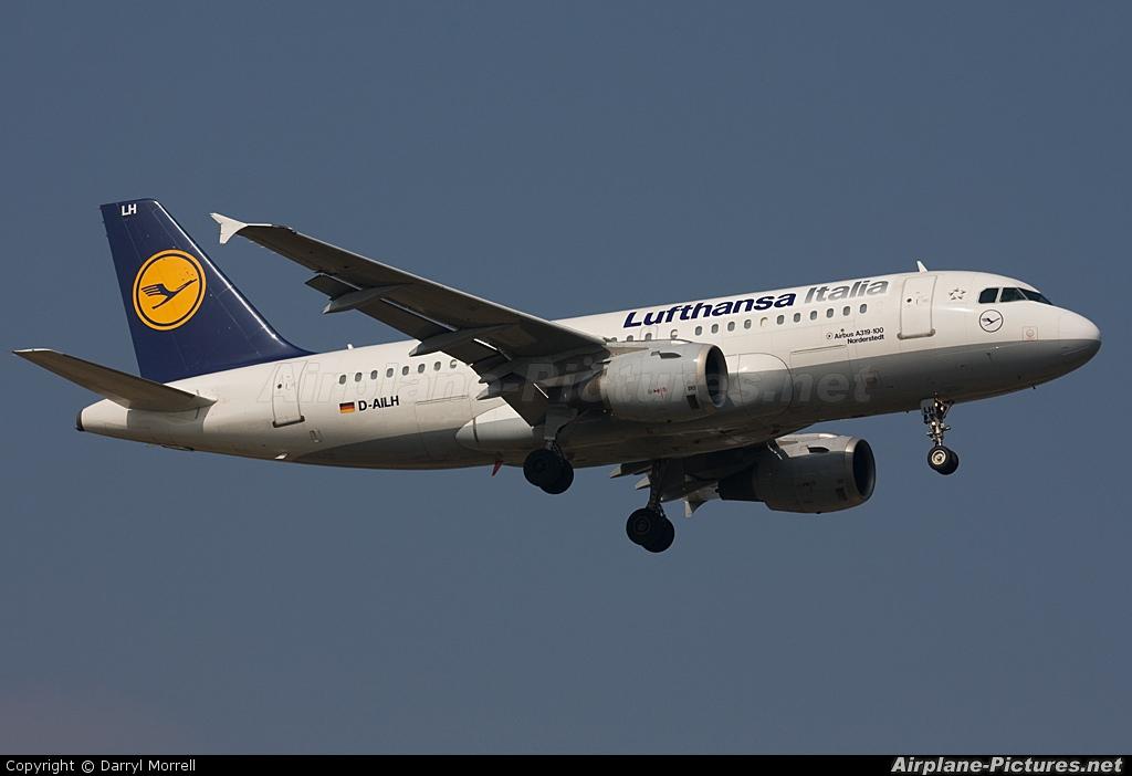 Lufthansa Italia D-AILH aircraft at London - Heathrow