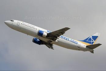 F-GLXQ - Axis Airways Boeing 737-400
