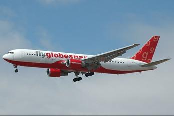 G-SPNA - Flyglobespan Boeing 767-300ER