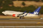 LN-TUJ - SAS - Scandinavian Airlines Boeing 737-700 aircraft