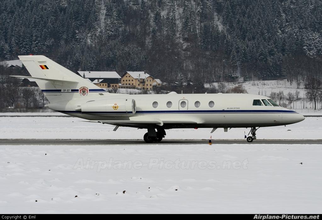 Belgium - Air Force CM-02 aircraft at Innsbruck