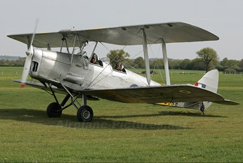 G-ANJA - Private de Havilland DH. 82 Tiger Moth
