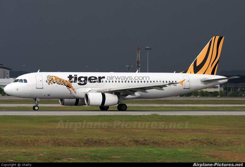 R Tiger Airways 9V-TAE - Tiger Airways...