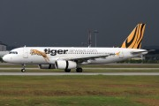 9V-TAE - Tiger Airways Airbus A320 aircraft