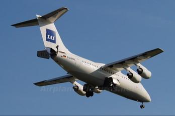 D-AMGL - SAS - Scandinavian Airlines British Aerospace BAe 146-200/Avro RJ85