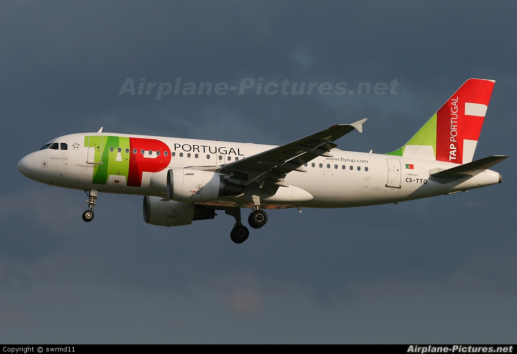 TAP Portugal CS-TTQ aircraft at Geneva Intl