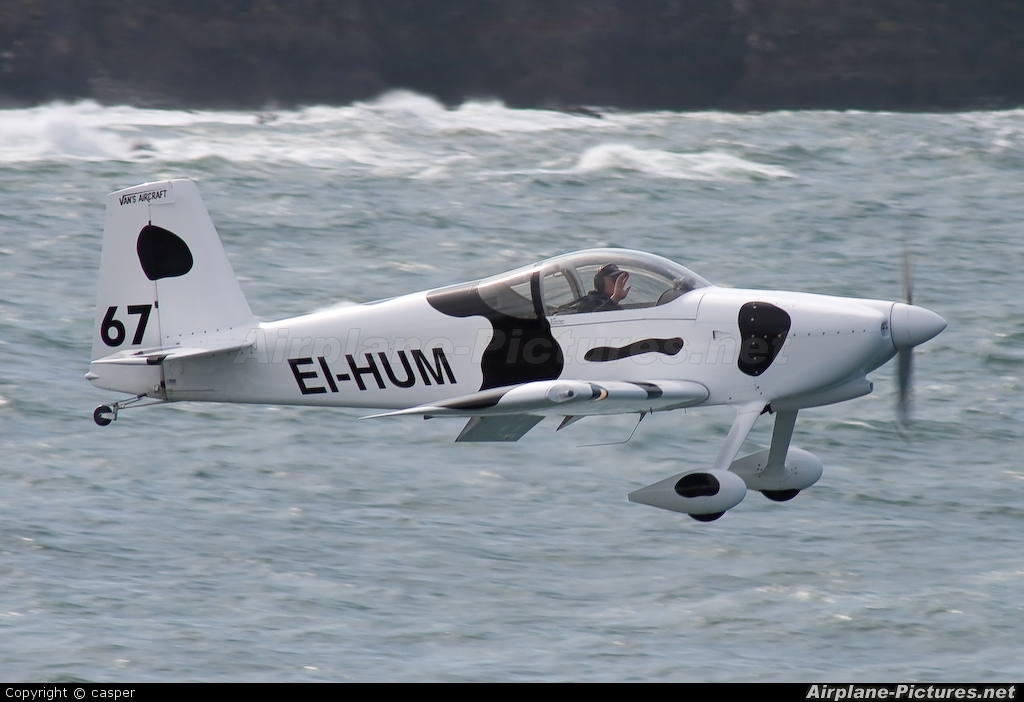 Private EI-HUM aircraft at Portrush - Off Airport