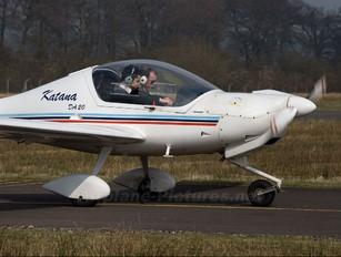 G-BYOF - Cumbernauld Flying School Diamond DA 20 Katana