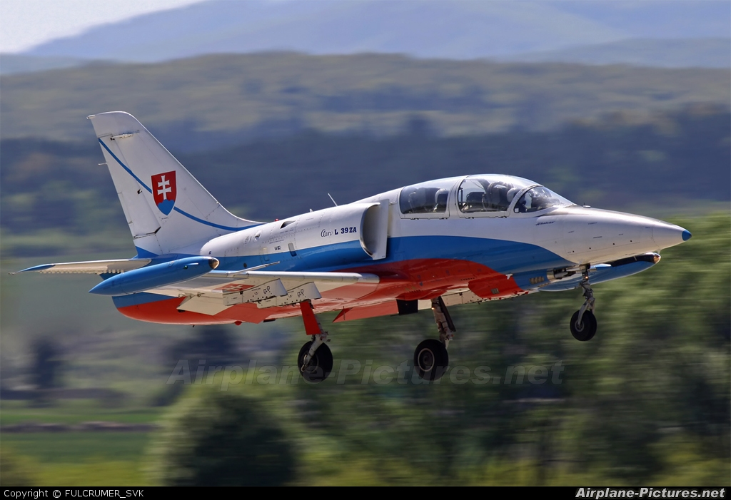 Slovakia -  Air Force 1701 aircraft at Sliač